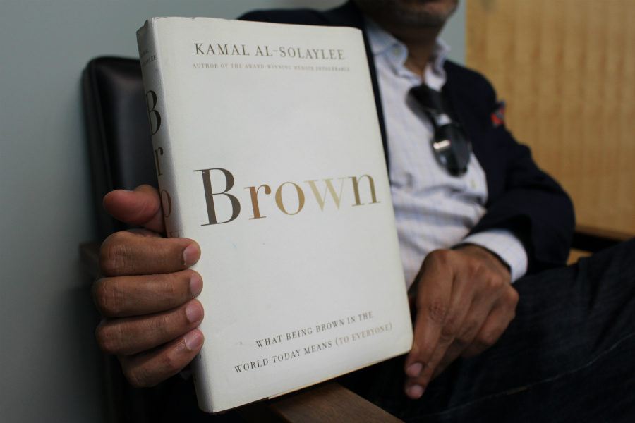 Kamal Al-Solaylee's Governor General's award-nominated book, Brown, explains what it means to be Brown in the world today. (Jasmine Bala)