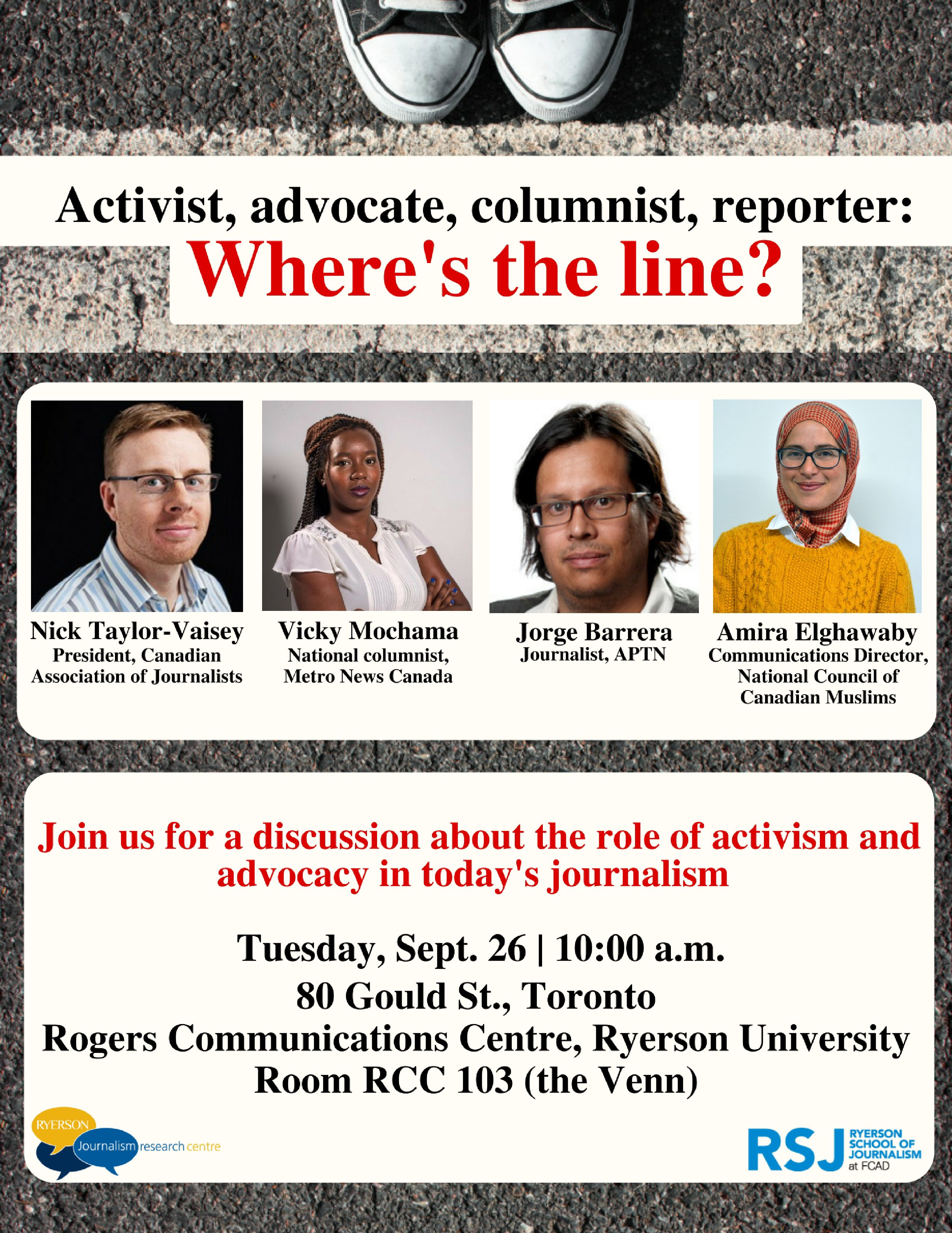 What Role Does Advocacy Play In Todays Journalism Join Us For A Panel Discussion