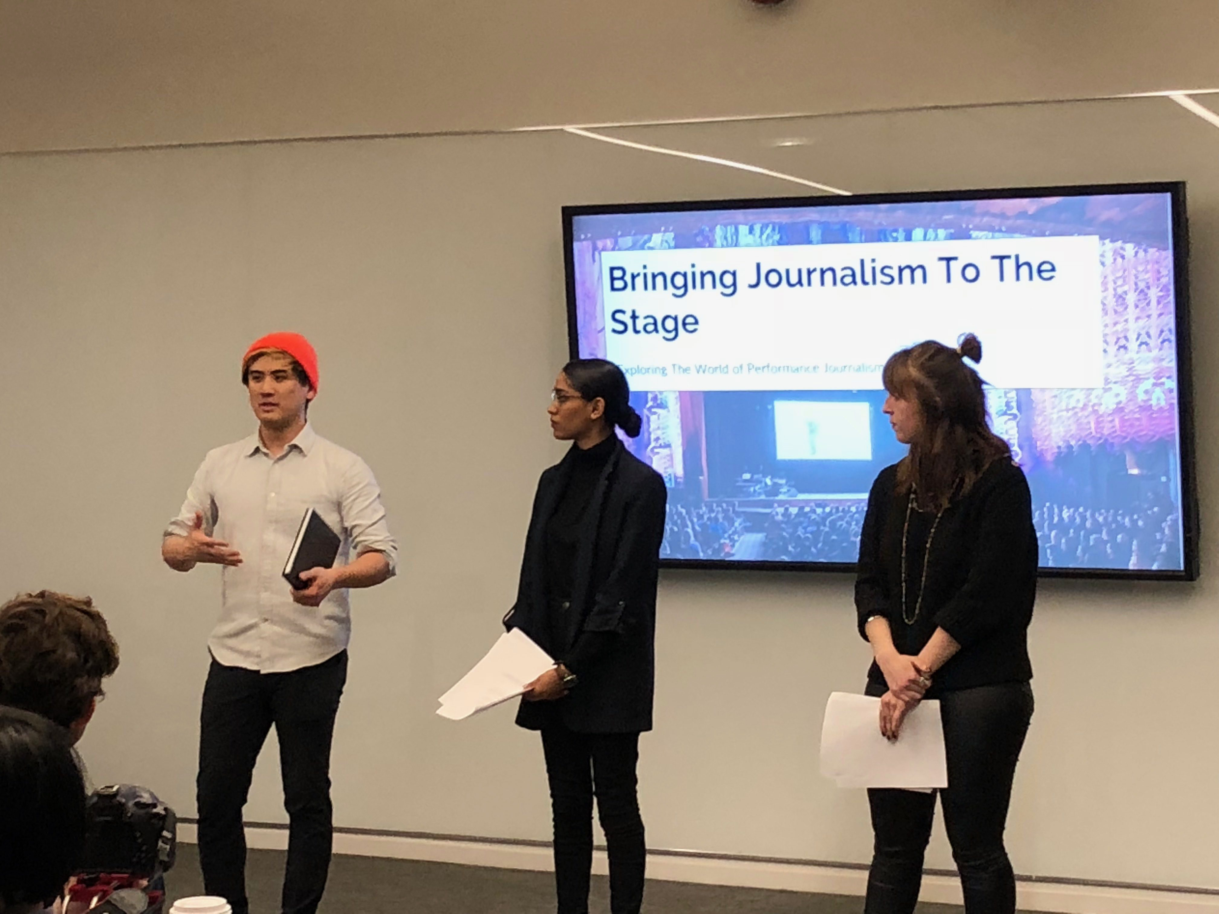 Photo of From the Page to the Stage: Creating Live Journalism